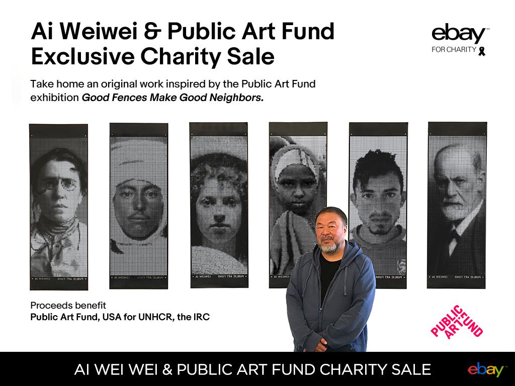 Ai Wei Wei & Public Art Fund Exclusive Charity Sale