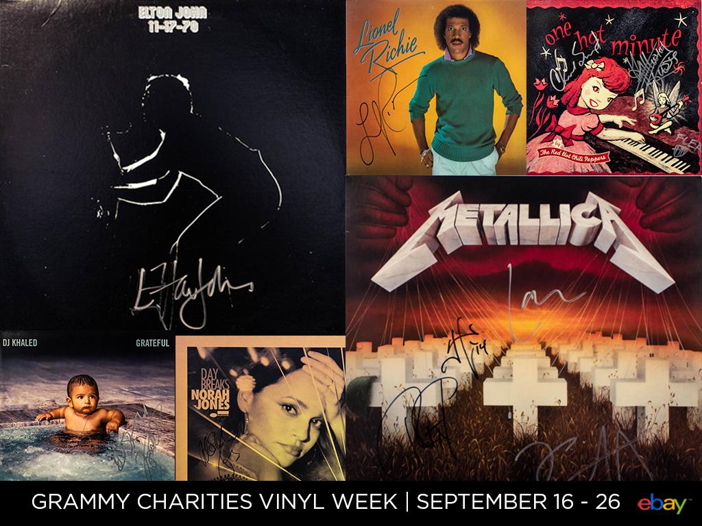 GRAMMY® Charities Vinyl Week