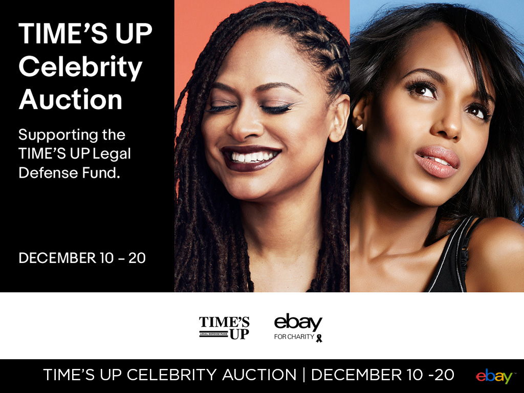 TIME'S UP Celebrity Auction