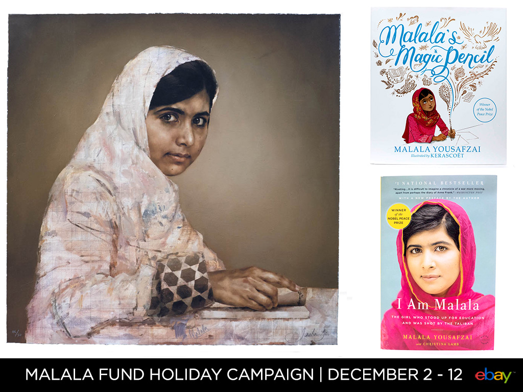 The Malala Fund Holiday Campaign
